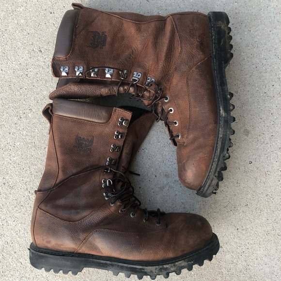 Cabelas Leather Boots Goretex Hunting